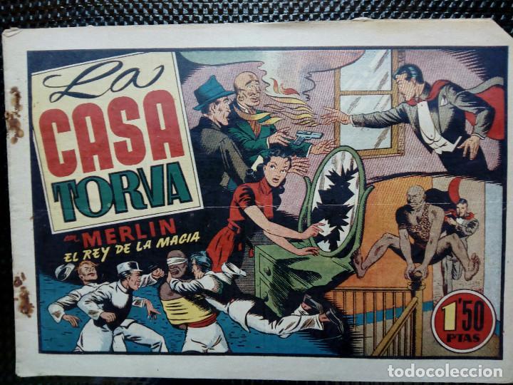 COMIC MERLIN EL REY DE LA MAGIA - HISPA.AMER. DE EDIC. 1944- ORIGINAL (M-2) (Tebeos y Comics - Hispano Americana - Merlín)
