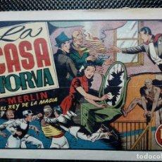 Tebeos: COMIC MERLIN EL REY DE LA MAGIA - HISPA.AMER. DE EDIC. 1944- ORIGINAL (M-2). Lote 121753999