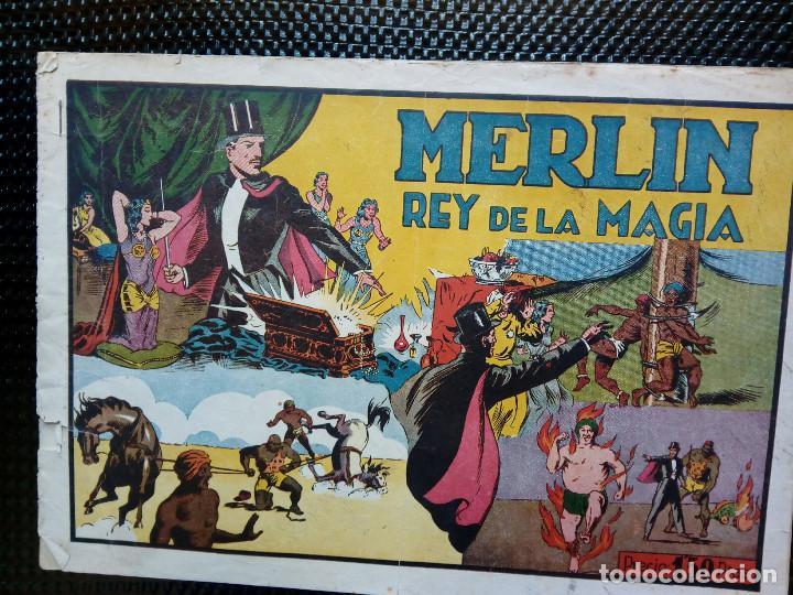 COMIC EL MISTERIO DE LA ORQUIDEA - HISP. AMER. DE EDIC.1944 ORIGINAL ( M-2) (Tebeos y Comics - Hispano Americana - Merlín)