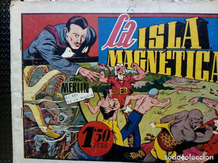 COMIC MERLIN EL REY DE LA MAGIA - HISPA.AMER. DE EDIC. 1944 -ORIGINAL (M-2) (Tebeos y Comics - Hispano Americana - Merlín)