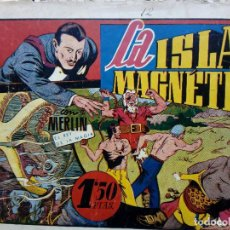 Tebeos: COMIC MERLIN EL REY DE LA MAGIA - HISPA.AMER. DE EDIC. 1944 -ORIGINAL (M-2). Lote 121759591
