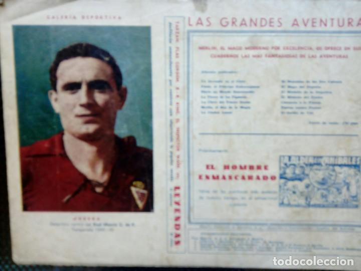 Tebeos: COMIC MERLIN EL REY DE LA MAGIA - HISPA.AMER. DE EDIC. 1944 -ORIGINAL (M-2) - Foto 2 - 121759591