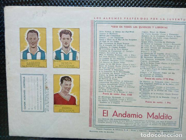 Tebeos: COMIC CARLOS EL INTREPIDO - ORIGINAL - EDC. HISP.AMER. 1942 (M-2) - Foto 2 - 121766267