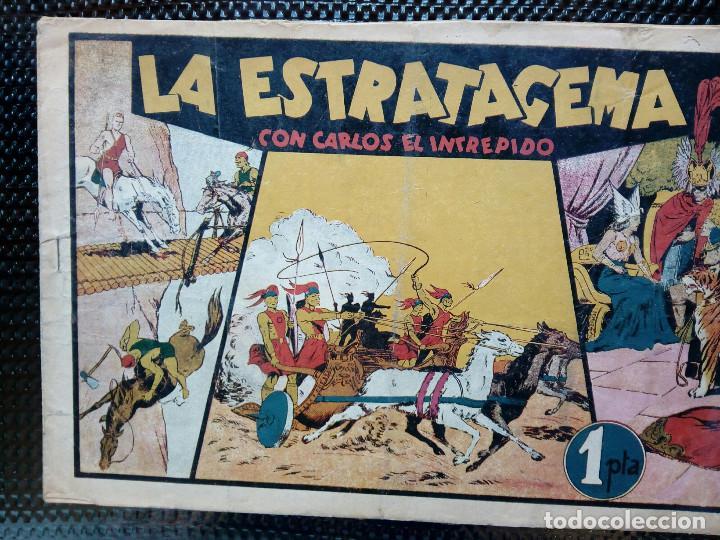 COMIC CARLOS EL INTREPIDO - ORIGINAL - EDC. HISP.AMER. 1942 (M-2) (Tebeos y Comics - Hispano Americana - Carlos el Intrépido)