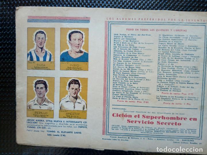 Tebeos: COMIC CARLOS EL INTREPIDO - ORIGINAL - EDC. HISP.AMER. 1942 (M-2) - Foto 2 - 121768007