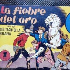 Tebeos: COMIC EL SOLITARIO DE LA PRADERA Nº 5 - HISP. AMER..DE EDIC. 1943 - ORIGINAL (M-2). Lote 121786099