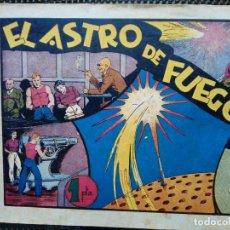 Tebeos: COMIC EL ASTRO DE FUEGO - ORIGINAL - HISP, AMER. DE EDC. 1942 (M-2 ). Lote 121792983