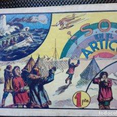 Tebeos: COMIC S.O.S. EN EL ARTICO - ORIGINAL - HISPA. AMER. DE EDIC. 1942 (M-2). Lote 121793927