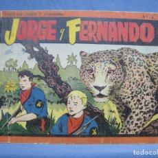 Tebeos: JORGE Y FERNANDO. ALBUM NUM. 3. HISPANO AMERICANA. . Lote 121864603