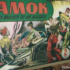 Tebeos: AMOK Nº 19 ORIGINAL - LA MUERTE DE UN MALVADO . Lote 121985167