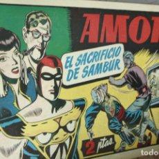Tebeos: AMOK Nº 20 ORIGINAL - EL SACRIFICIO DE SAMBUR . Lote 121985283