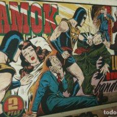 Tebeos: AMOK Nº 15 ORIGINAL - LUCHA ENTRE BANDIDOS AÑOS 40. Lote 121985471