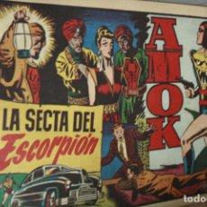 Tebeos: AMOK Nº 16 ORIGINAL - LA SECTA DEL ESCORPION AÑOS 40. Lote 121985675