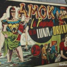 Tebeos: AMOK Nº 4 ORIGINAL - LA PAGODA DE LA LUNA DE ORIENTE AÑOS 40. Lote 121985903