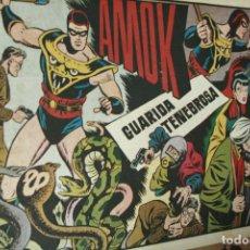 Tebeos: AMOK Nº 17 ORIGINAL - GUARIDA TENEBROSA AÑOS 40. Lote 121986279