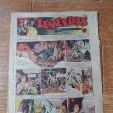 Tebeos: LEYENDAS INFANTILES Nº 121 HISPANO AMERICANA FLASH GORDON DICK NORTON DE IRANZO , TARZAN X 9 . Lote 122090619