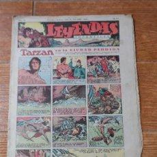 Tebeos: LEYENDAS INFANTILES Nº 93 HISPANO AMERICANA FLASH GORDON DICK NORTON DE IRANZO , TARZAN X 9 . Lote 122091699