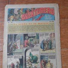 Tebeos: AVENTURERO Nº 97 EDITORIAL HISPANO AMERICANA 1935 FLASH GORDON , TARZAN X 9 MERLIN MANDRAKE . Lote 122092703