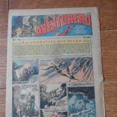 Tebeos: AVENTURERO Nº 92 EDITORIAL HISPANO AMERICANA 1935 FLASH GORDON , TARZAN X 9 MERLIN MANDRAKE . Lote 122092911