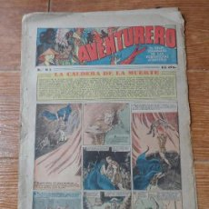 Tebeos: AVENTURERO Nº 81 EDITORIAL HISPANO AMERICANA 1935 FLASH GORDON , TARZAN X 9 MERLIN MANDRAKE . Lote 122093039