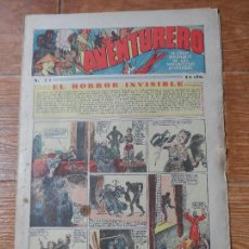 Tebeos: AVENTURERO Nº 77 EDITORIAL HISPANO AMERICANA 1935 FLASH GORDON , TARZAN X 9 MERLIN MANDRAKE . Lote 122093183