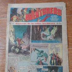 Tebeos: AVENTURERO Nº 63 EDITORIAL HISPANO AMERICANA 1935 FLASH GORDON , TARZAN X 9 MERLIN MANDRAKE . Lote 122093523