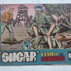Tebeos: SUGAR AGENTE SECRETO Nº 27 - HISPANO AMERICANA ORIGINAL - 1960, MARTÍNEZ OSETE. Lote 122621487