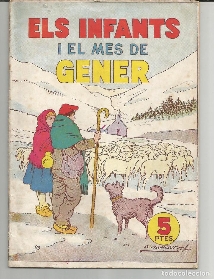 ELS INFANTS I EL MES DE GENER Nº 2 HISPANO AMERICANA DE EDICIONES (Tebeos y Comics - Hispano Americana - Otros)