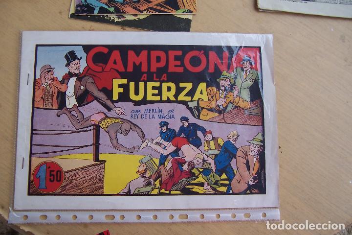 Tebeos: hispano americana, lote de merlín el mago, ver - Foto 81 - 81703172