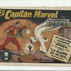Tebeos: EL CAPITÁN MARVEL 4: LA ESPADA EN LA PIEDRA, 1947, HISPANO AMERICANA. Lote 124693643