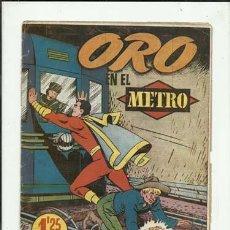 Tebeos: EL CAPITÁN MARVEL 7: ORO EN EL METRO, 1949, HISPANO AMERICANA, BUEN ESTADO. Lote 124694471