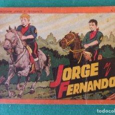 Comics - JORGE Y FERNANDO ALBUM ROJO Nº 4 HISPANO AMERICANA DE EDICIONES - 125267291