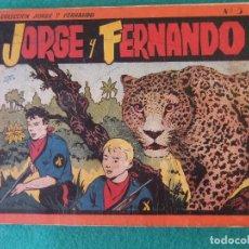 Tebeos: JORGE Y FERNANDO ALBUM ROJO Nº 3 HISPANO AMERICANA DE EDICIONES. Lote 125267379