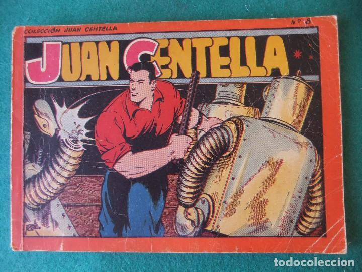 JUAN CENTELLA ALBUM ROJO NUMERO 8 HISPANO AMERICANA DE EDICIONES (Tebeos y Comics - Hispano Americana - Juan Centella)