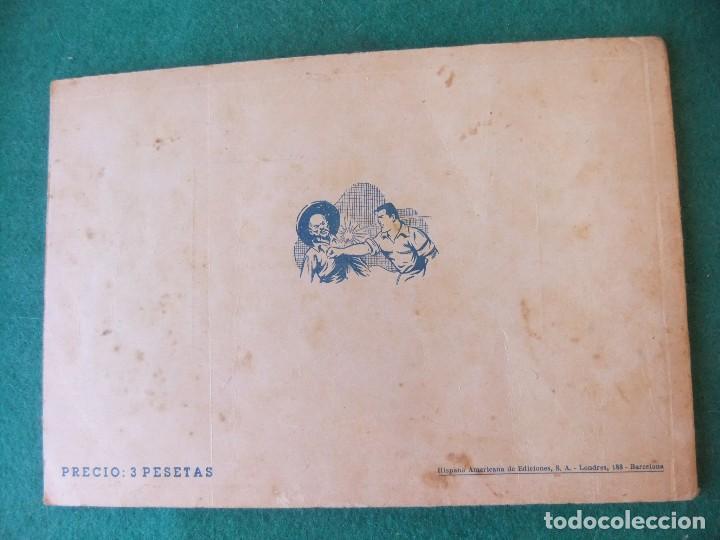 Tebeos: JUAN CENTELLA ALBUM ROJO NUMERO 8 HISPANO AMERICANA DE EDICIONES - Foto 2 - 125267531