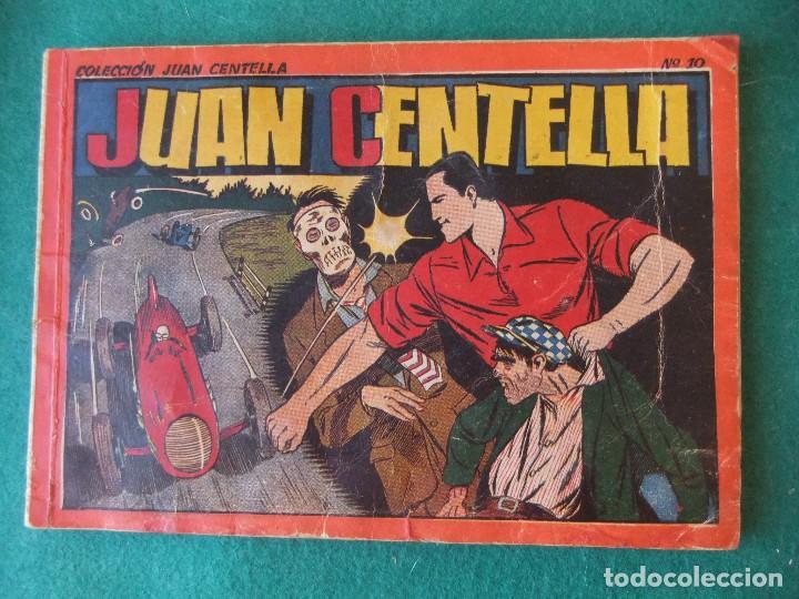 JUAN CENTELLA ALBUM ROJO NUMERO 10 HISPANO AMERICANA DE EDICIONES (Tebeos y Comics - Hispano Americana - Juan Centella)