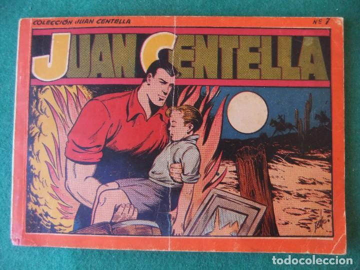 JUAN CENTELLA ALBUM ROJO NUMERO 7 HISPANO AMERICANA DE EDICIONES (Tebeos y Comics - Hispano Americana - Juan Centella)