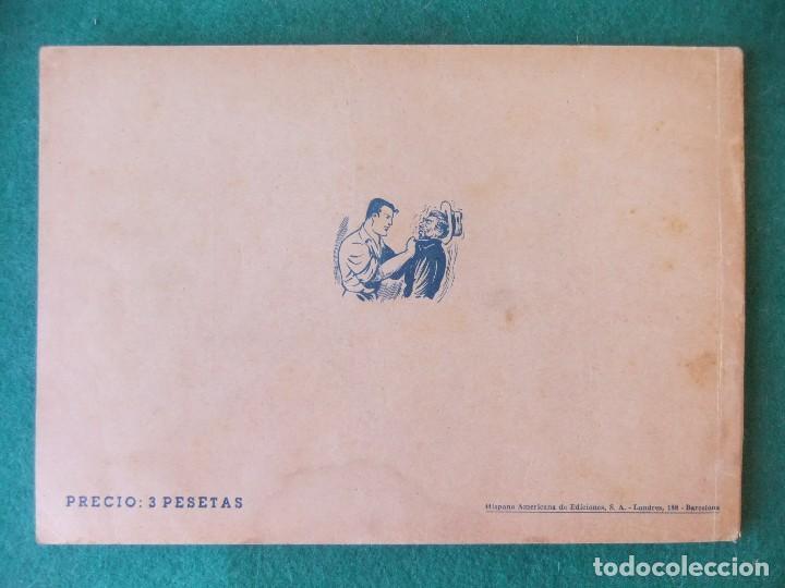Tebeos: JUAN CENTELLA ALBUM ROJO NUMERO 7 HISPANO AMERICANA DE EDICIONES - Foto 2 - 125267743