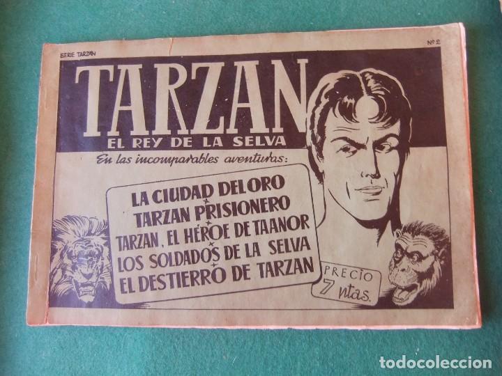 TARZAN ALBUM VERDE Nº 2 HISPANO AMERICANA DE EDICIONES (Tebeos y Comics - Hispano Americana - Tarzán)