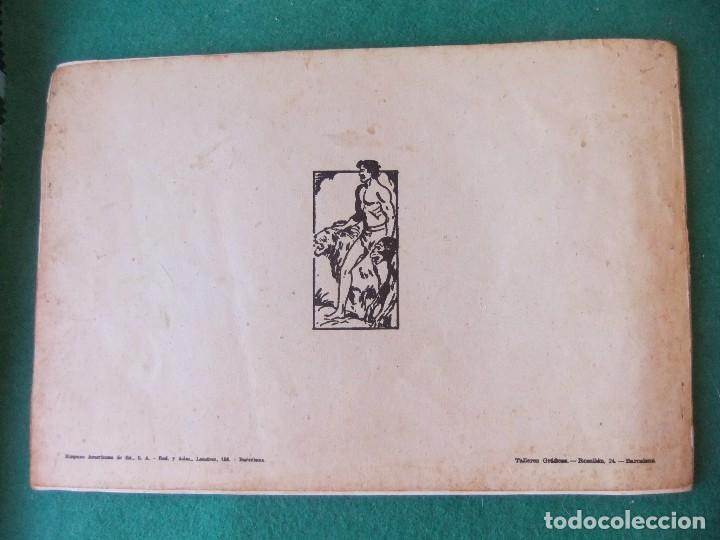 Tebeos: TARZAN ALBUM VERDE Nº 2 HISPANO AMERICANA DE EDICIONES - Foto 2 - 125268699