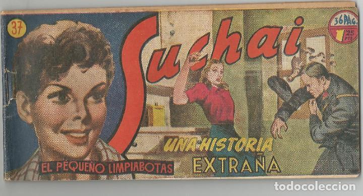 SUCHAI HISPANO AMERICANA DE EDICIONES Nº 37 (Tebeos y Comics - Hispano Americana - Suchai)
