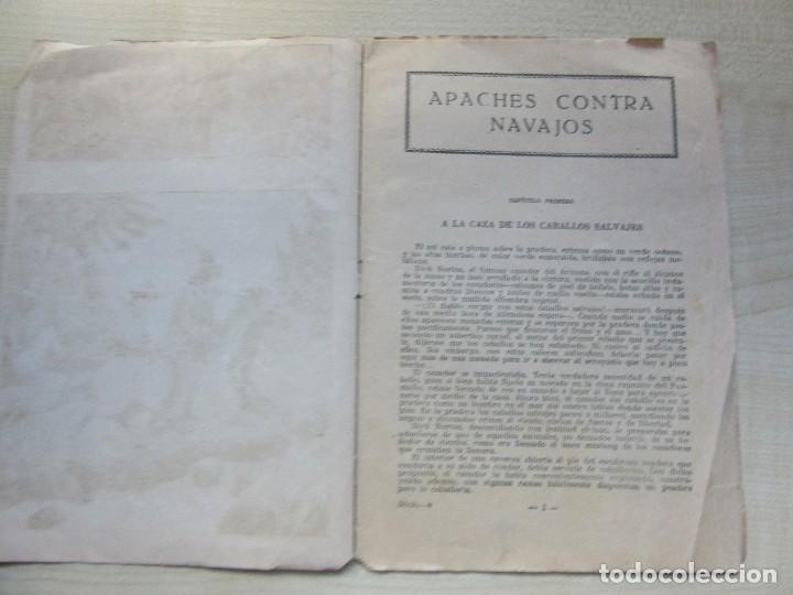 Tebeos: Librito de Dick Norton El Heroe del Far West Apaches contra Navajos Años 30 - Foto 2 - 126706783