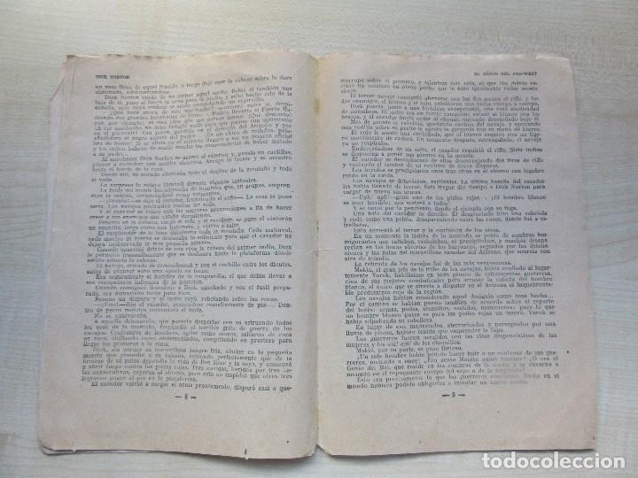 Tebeos: Librito de Dick Norton El Heroe del Far West Apaches contra Navajos Años 30 - Foto 3 - 126706783