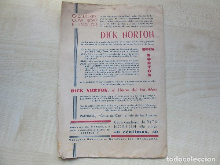 Tebeos: Librito de Dick Norton El Heroe del Far West Apaches contra Navajos Años 30 - Foto 4 - 126706783