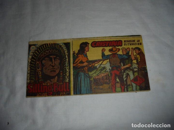 SITTING BULL Nº 33.-CRITINA RESUELVE LA SITUACION (Tebeos y Comics - Hispano Americana - Otros)