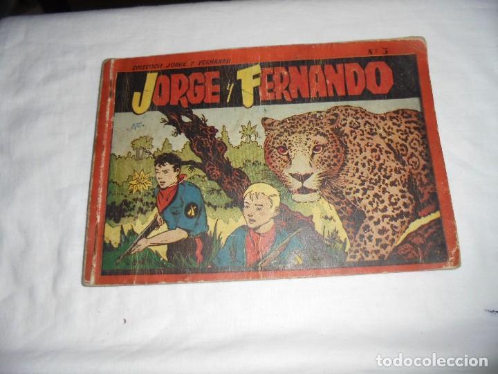 JORGE Y FERNANDO Nº 3 ALBUM ROJO. (Tebeos y Comics - Hispano Americana - Juan Centella)