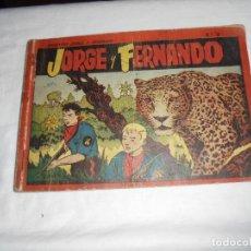 Tebeos: JORGE Y FERNANDO Nº 3 ALBUM ROJO.. Lote 126736903