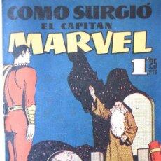 Tebeos: COM-11. COMO SURGIÓ EL CAPITAN MARVEL. NÚMERO 20. AÑO 1960. HISPANO AMERICANA.. Lote 126758151