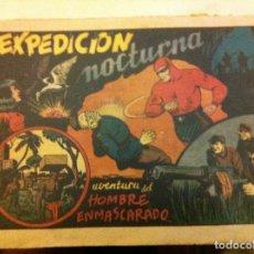 Tebeos: HOMBRE ENMASCARADO -EXPEDICIÓN NOCTURNA -USADO- CUBIERTA FOTOCOPIA. Lote 127252395
