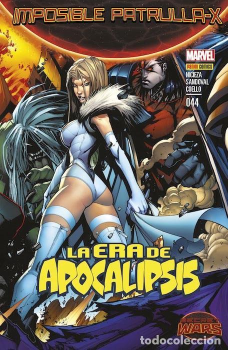 COMIC MARVEL - IMPOSIBLE PATRULLA-X - LA ERA APOCALIPSIS - 044 - PANINI COMICS (Tebeos y Comics - Hispano Americana - Otros)